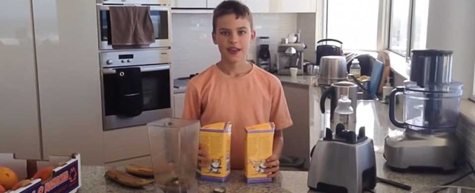 Joshua's kid smoothie