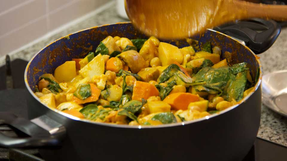 Creamy Vegetable Vegan Curry