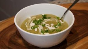Smokey Potato Leek Soup