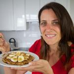 Oat Banana Waffles