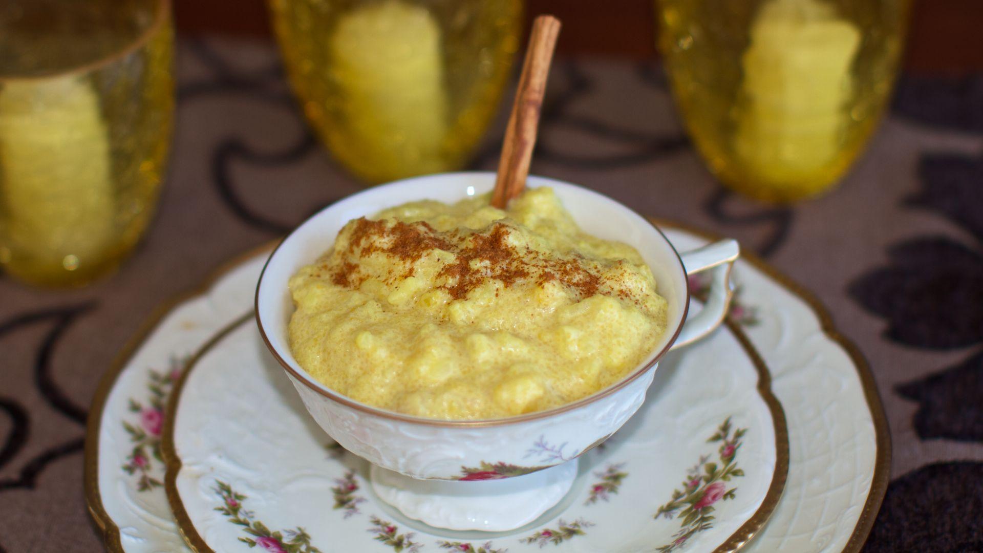 Banana Polenta Porridge