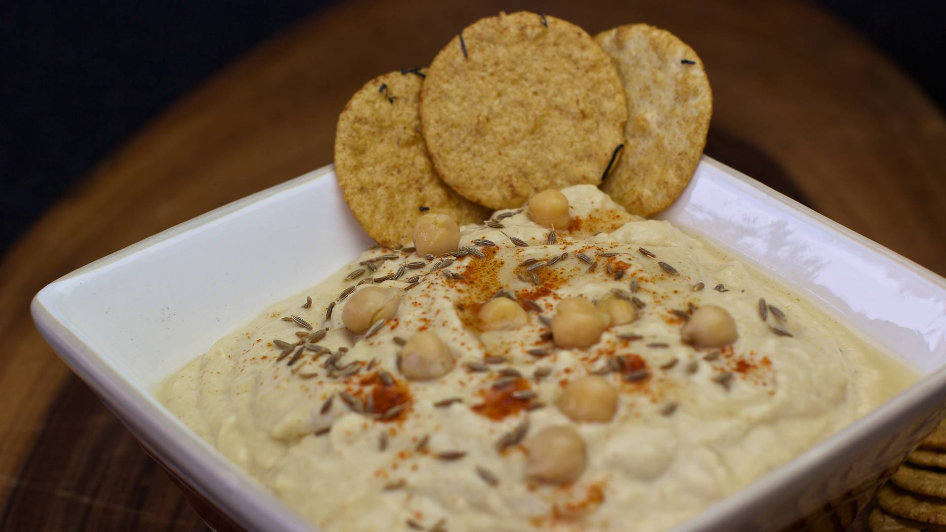 No oil hummus recipe cooking with plants view larger image hummus oil free forumfinder Gallery