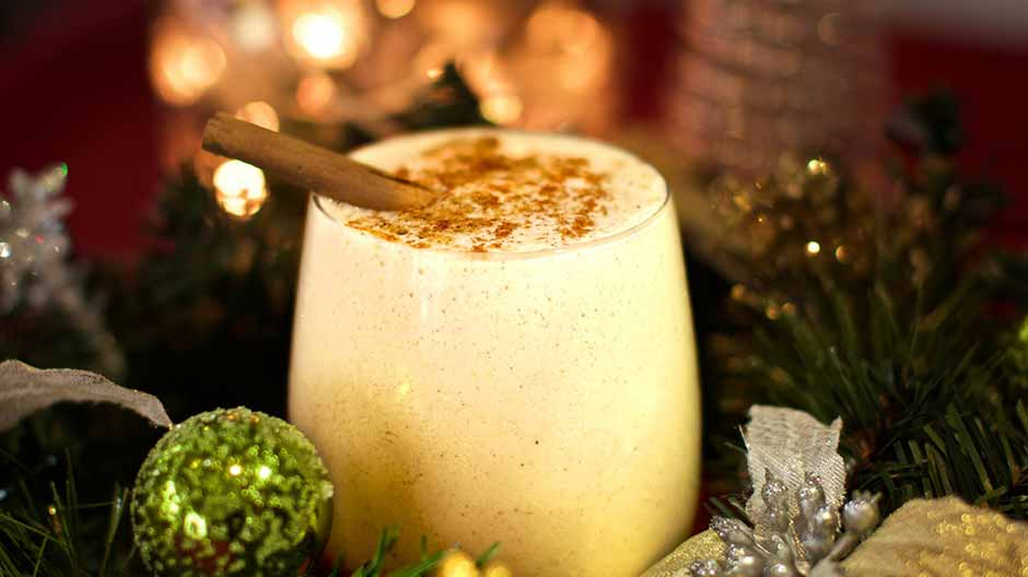 Vegan Eggless Nog Recipe For Christmas