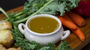 5 minute vegetable stock