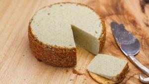 Herbed Almond Garlic Cheese