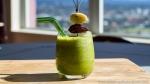 vegan green breakfast smoothie