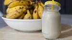 vegan sesame banana milk
