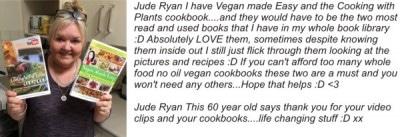 best vegan cookbooks testimonial