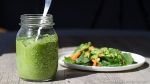Creamy Parsley & Avocado Dressing
