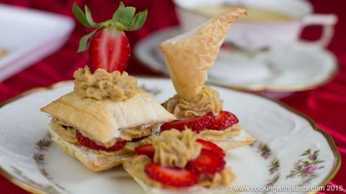 Starwberry Cheesecake Puff Pastry