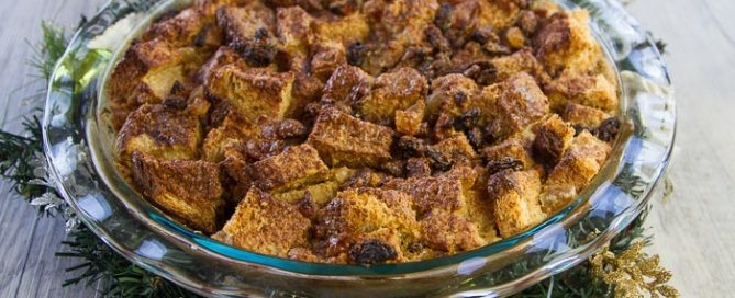 Vegan Bread Pudding - ideal for Christmas