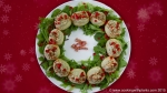 edible potato christmas wreath