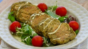 Vegan Chickpea & Potato Burger Patties