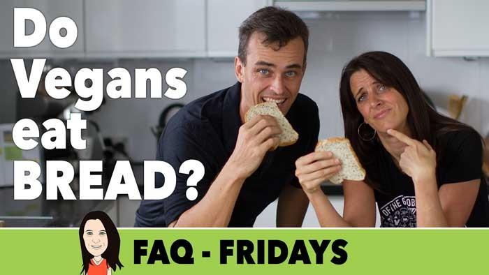 do vegans eat bread