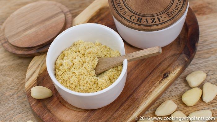 dairy free vegan parmesan cheese