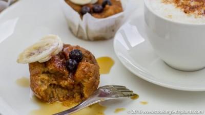 vegan recipe french toast breakfast muffins