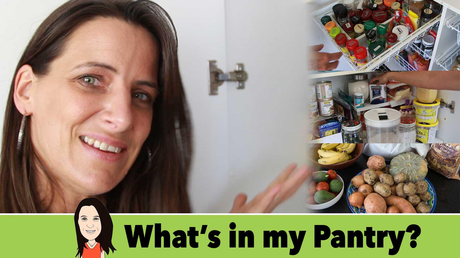 vegan pantry tour