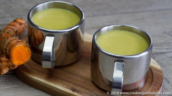 vegan turmeric latte aka golden milk