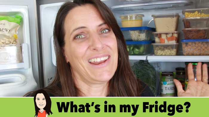 what is in my vegan fridge