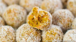 carrot cake energy balls plant based vegan recipes