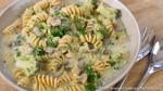 one pot creamy mushroom pasta