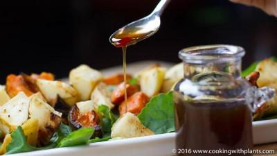 asian salad dressing plant based vegan recipe