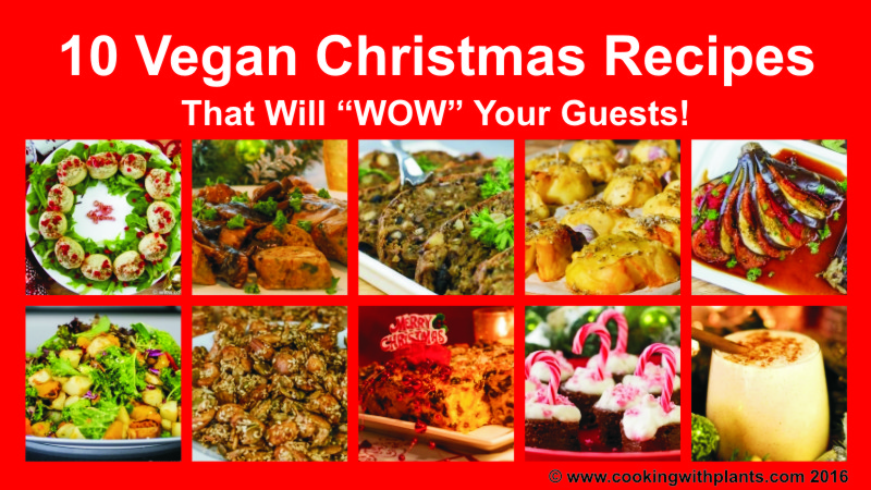 10 Vegan Christmas Recipes