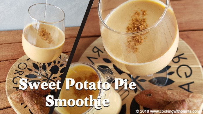 sweet potato pie smoothie