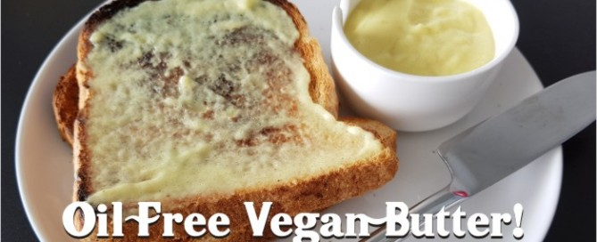 oil free vegan butter recipe