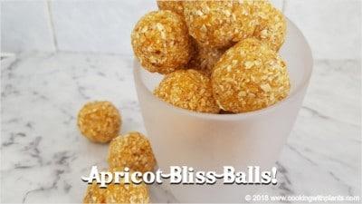healthy apricot bliss balls recipe