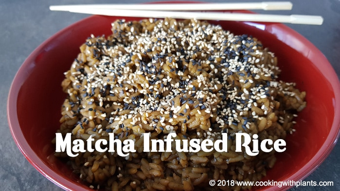 Easy vegan recipes cooking with plants japanese matcha rice forumfinder Image collections