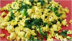 tofu scramble, vegan eggs, tofu scramble eggs