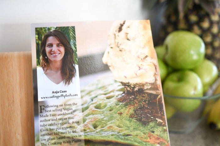cooking with plants anja cass cookbook author