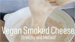 vegan smoked cheese, vegan melty cheese