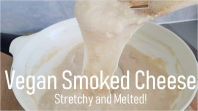 vegan smoked cheese, vegan melty cheese