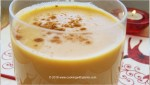 festive sweet potato eggless nog
