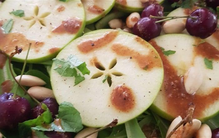 apple mint salad
