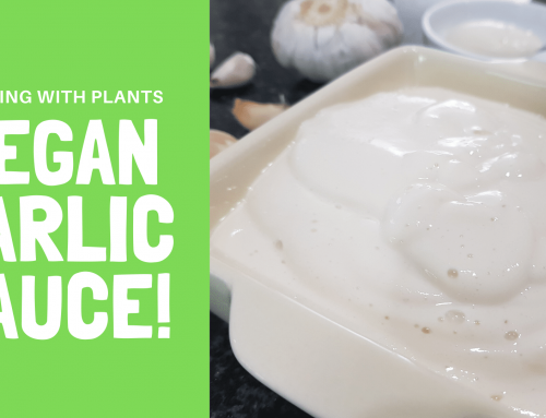 Vegan Garlic Aioli Sauce – No Oil Recipe!