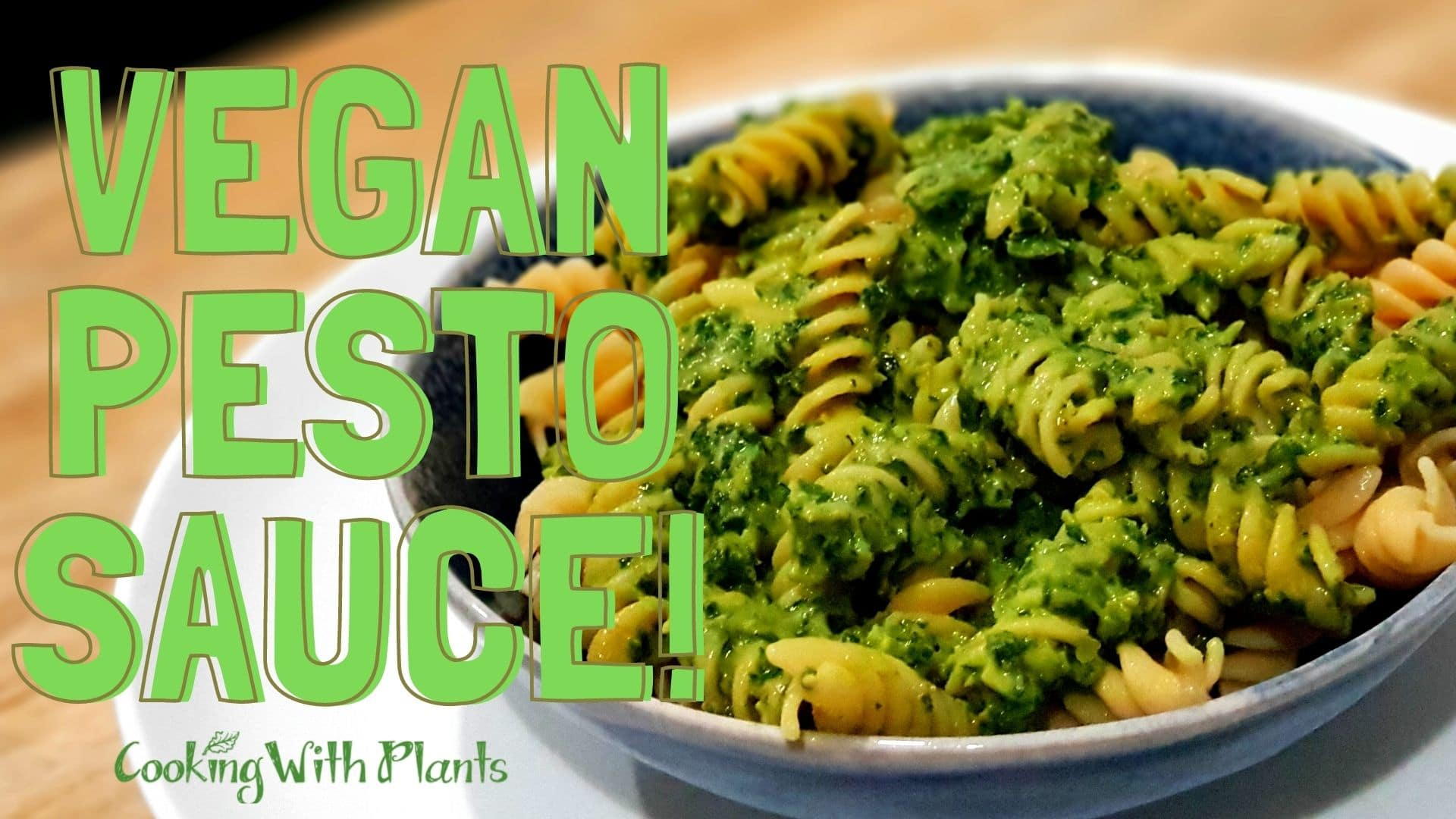 nut free vegan pesto sauce
