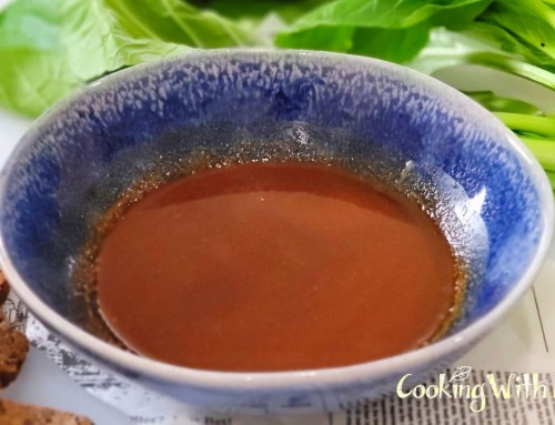 Sesame Chili Dipping Sauce (And Dressing) – YUM!