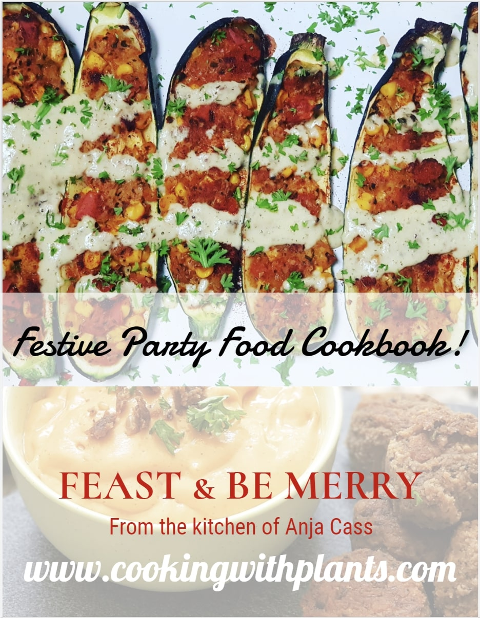 Festive Party Food Cookbook - Cooking With Plants