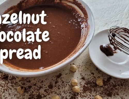 Chocolate Hazelnut Spread aka. Vegan Nutella!