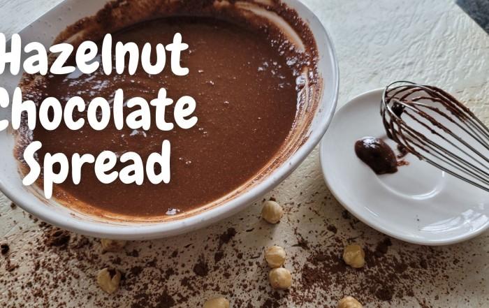 Chocolate Hazelnut Spread - vegan nutella
