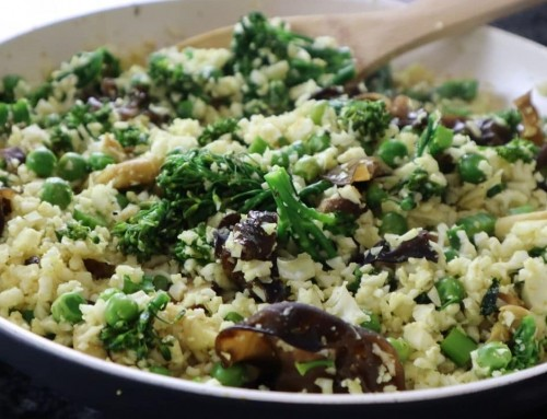 Curried Cauliflower Rice – You Won't Believe It's Not Rice!