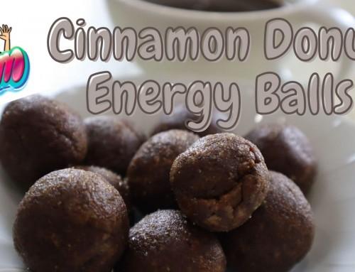 Cinnamon Donut Energy Balls – Easy Vegan Recipe Without Dates!