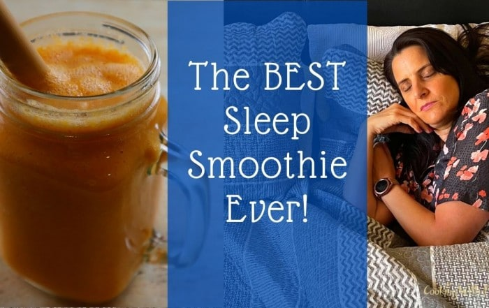 Natural Sleep Smoothie - Bedtime Sleep Drink For Better Sleep