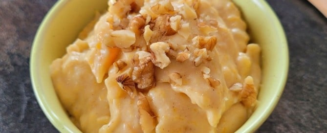 Creamy Vegan Pumpkin Pie Pudding